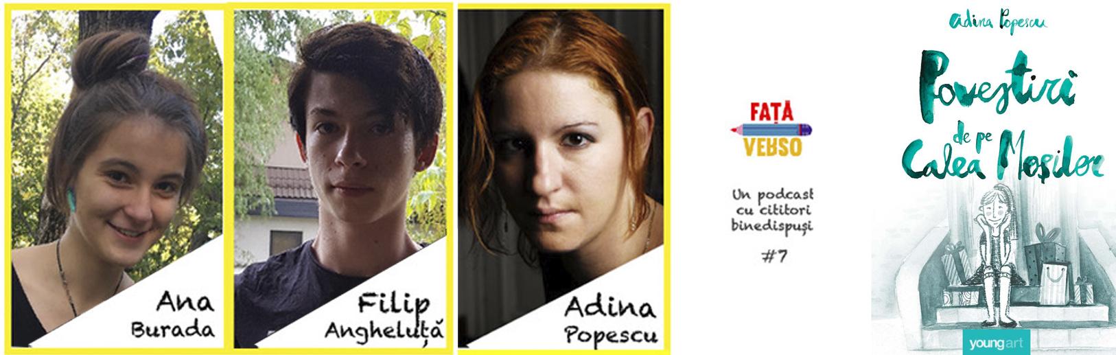 """""""Povestiri de pe Calea Moșilor"""", cu Adina Popescu, Filip și Ana"""