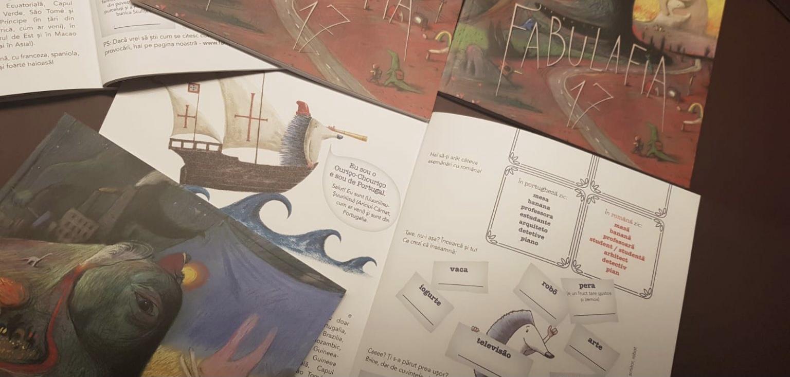 Prima întâlnire cu Ouriço-Chouriço în paginile revistei Fabulafia